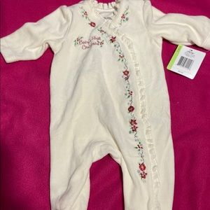 Brand new baby's first Christmas outfit 3m